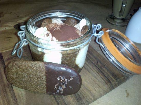 Cucina Enoteca: Tiramasu...in a jar...yum..