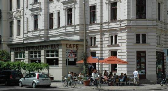Cafe Grundmann: außenansicht