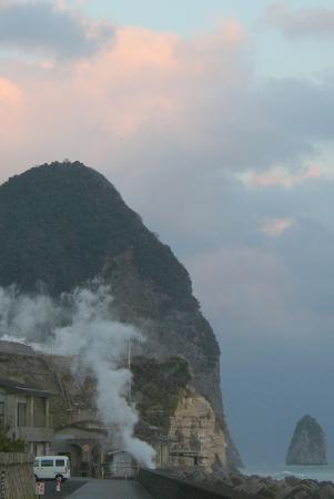Richmond Hotel Kagoshima Tenmonkan: Geothermal sands