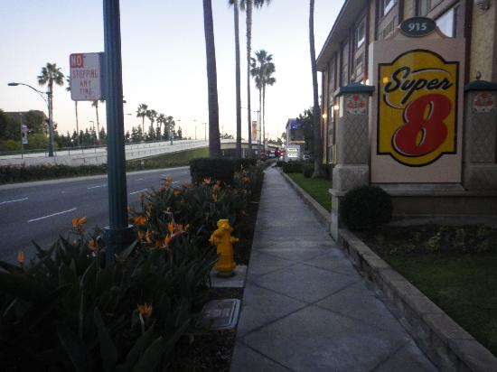 Super 8 Anaheim/Disneyland Drive: From the street