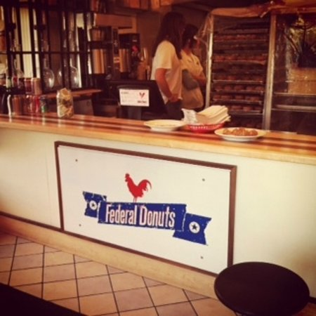 Photo of Restaurant Federal Donuts at 1632 Sansom St, Philadelphia, PA 19103, United States