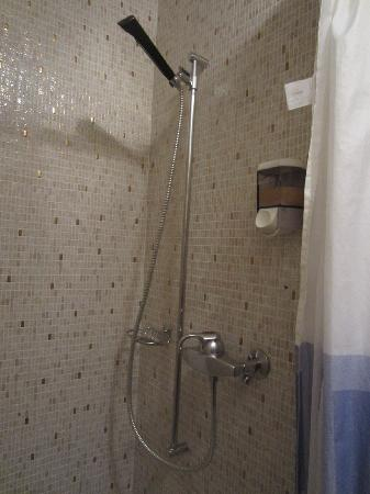 Seehotel Sternen Beckenried : shower