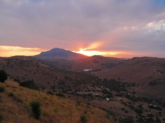 Davis Mountains State Park: Ft Davis State Park