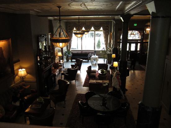 The Oxford Hotel : Lobby