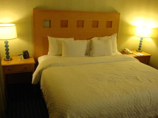Embassy Suites by Hilton Walnut Creek: Nice and cozy bed
