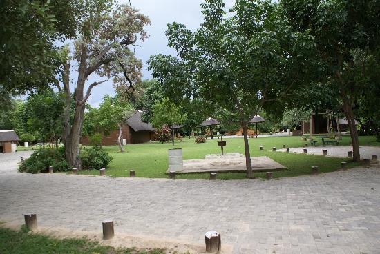 Namwi Island Camp Site: buget rooms
