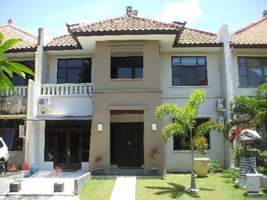 Kuta Regency Villa (B10): Entrance to both 4 b/r & 1 b/r next door.  4 b/r is 2 storey.  1 b/r is single storey