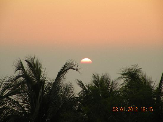 Sunset from Kashid Beach Resort