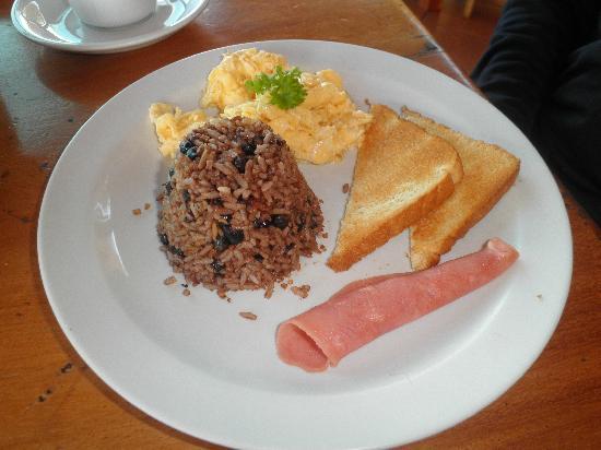 Rinconcito Lodge : Desayuno del hotel