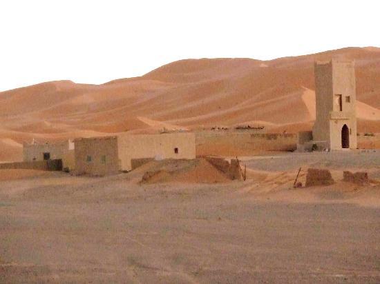 Auberge Kasbah Leila: vista desde el albergue