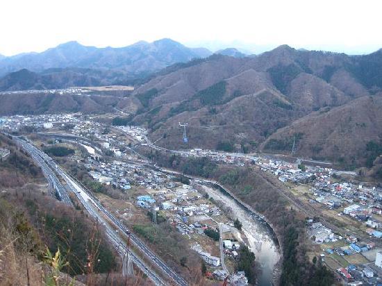 Mount Iwadono : 山頂からの景色