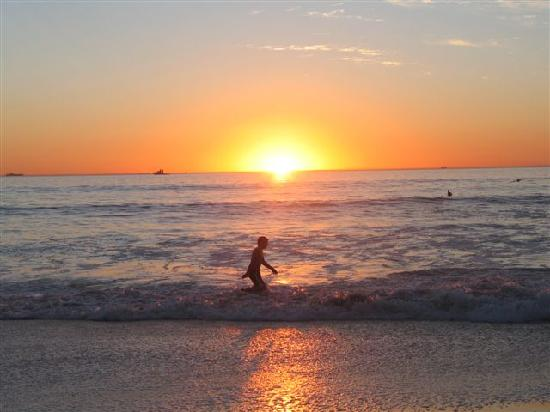 Cape Hermitage Guesthouse : Sunset at the beach