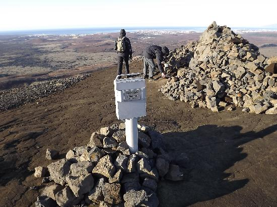Mountain Climbing (Iceland Hiking) - Day Tours: top of helgafell