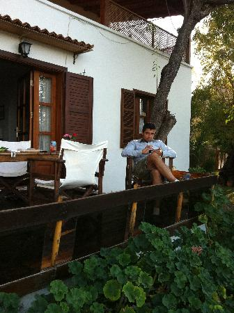Villa Manzara : one of the houses we stayed in October 2011