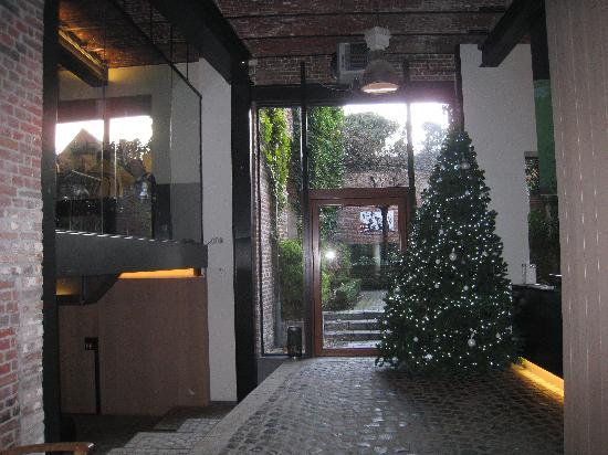 De Groene Hendrickx: reception area