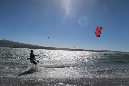 Kitebeach close by Constantly Kiting