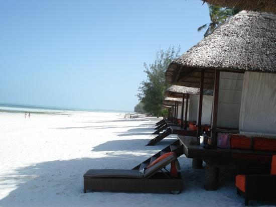 Melia Zanzibar: les paillasses de la plage