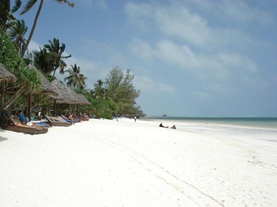 Melia Zanzibar: les transats, le sable blanc !!!