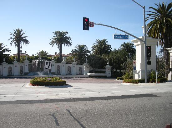Monarch Beach Resort: Enterance