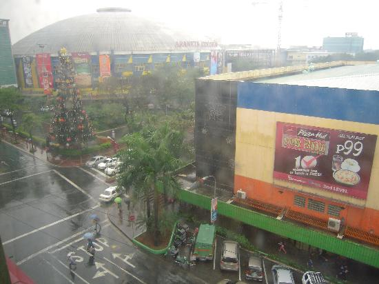 Eurotel Araneta: The View in Room 525
