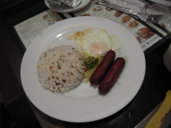 Eurotel Araneta: Filipino Breakfast