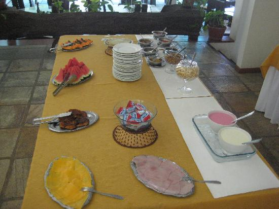 Hotel Mandragora: Breakfastbuffet part 1