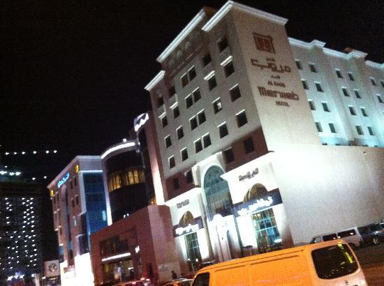 Merwebhotel Al Sadd Doha: facade du Merweb Hotel