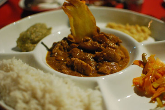 Pirogue Restaurant & Bar: Fischcurry