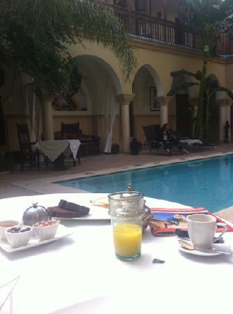 Demeures d'Orient : la colazione a qualunque ora :-)