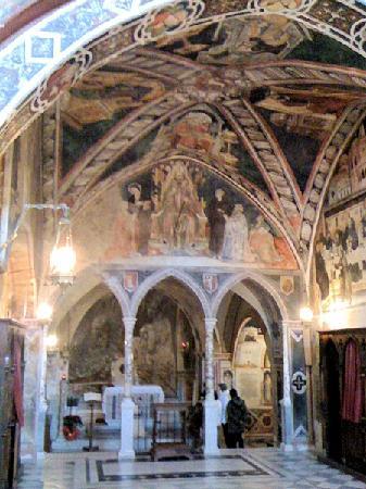Subiaco, Ιταλία: La chiesa superiore