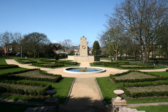 Rotherham, UK: The Memorial Garden
