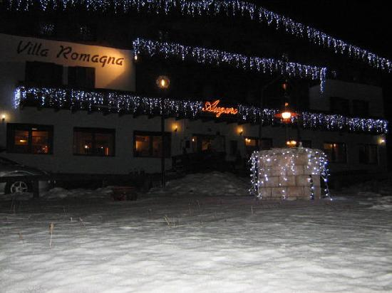 Villa Romagna: arrivo