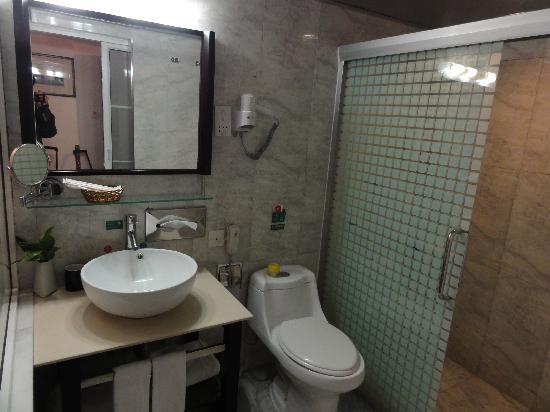 Zhuhai Special Economic Zone Hotel: Toilet