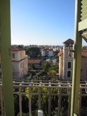 Bordighera, Italie : View from my balcony