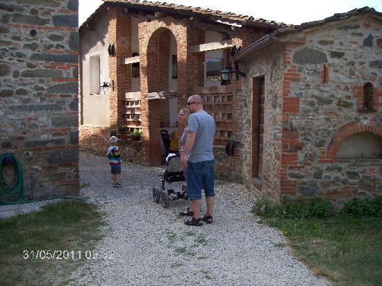 Villa Stabbia: Villa Stabia- ope ved husene
