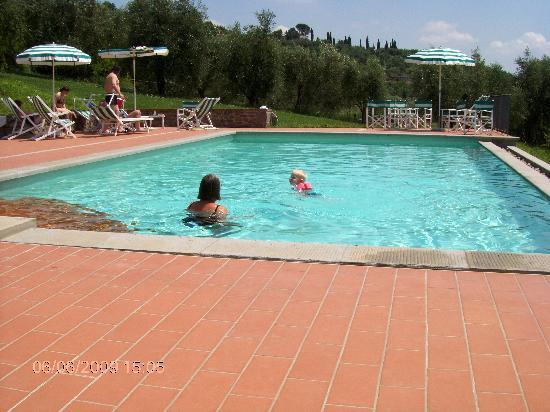Villa Stabbia: Villa stabia - ved poolen