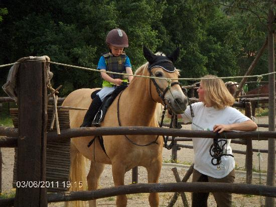 Villa Stabbia: Villa stabia - der er også mulighed for at ride