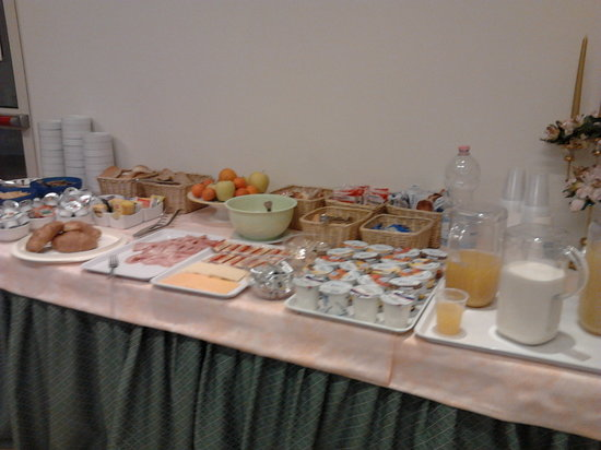 Hotel Siena: colazione