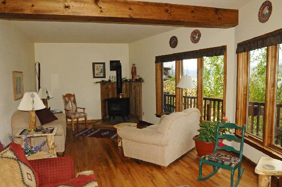 Coyote Ridge Bed and Breakfast : Lounge