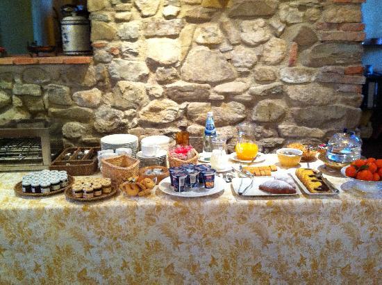 B&B Il Nido di Gabbiano: colazione