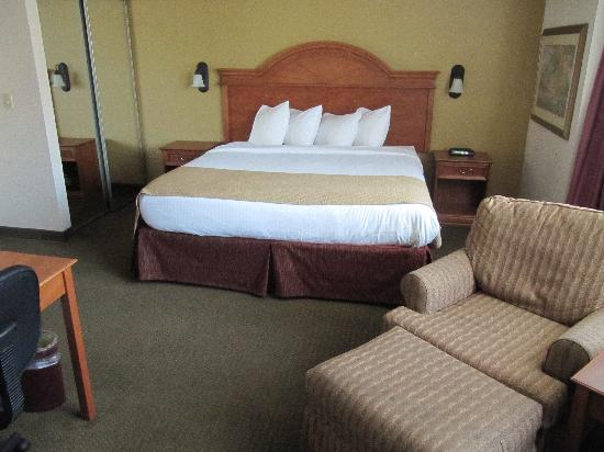 BEST WESTERN PLUS Como Park Hotel: Our room