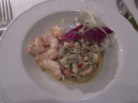 Restaurant Krebsegaarden : Crayfish salad