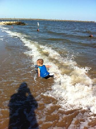 La Porte, Teksas: having fun at sylvan beach park