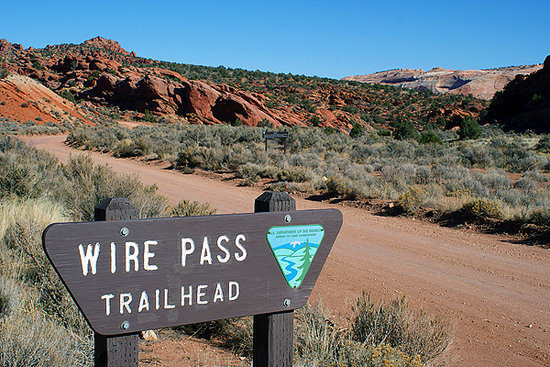 ‪Wire Pass Trail (Buckskin Gulch access)‬