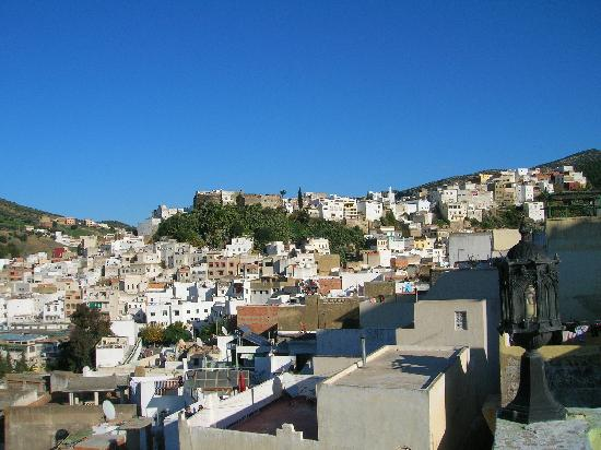 Dar Al Andaloussiya Diyafa: vista dalla terrazza