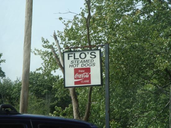 Flo's Steamed Hot Dogs: look for this!