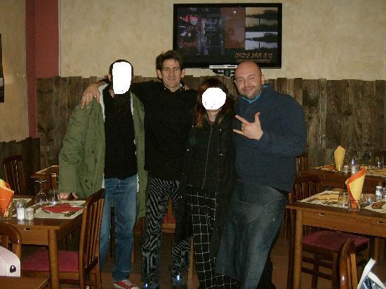 Dad's Bar B Q : donal riccardo e noi