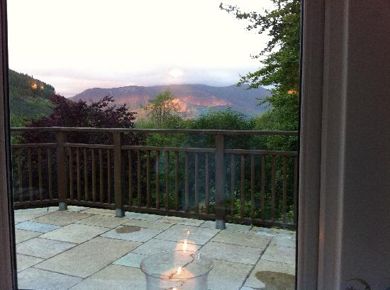 The Cottage in the Wood: The view from the dining room