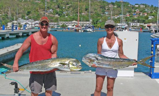 True Blue Sportfishing: Dinner for two