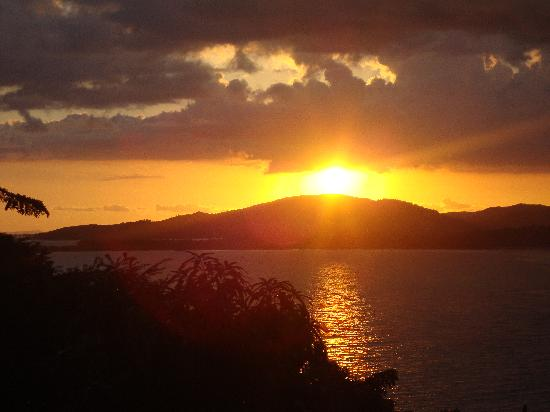Aquin, Haiti: Sunset over Cocoyers Anglade
